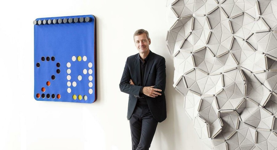 Anders Byriel, CEO for kvadrat.