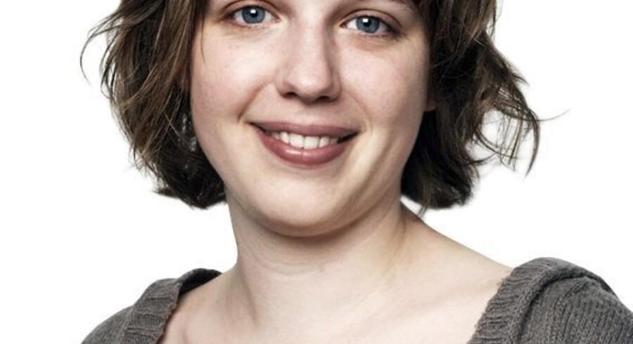 Rina Ronja Kari, talspeson for Folkebevægelsen mod EU.