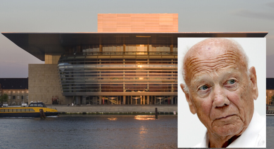 Henning Larsen - arkitekten bag Operaen og mange andre store bygningsværker - er død, 87 år.