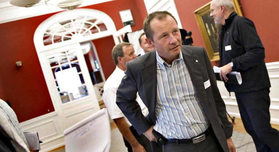 Haderslev med borgmester H.P. Geil er en af de kommuner der kæmper for at få statslige arbejdspladser til byen.