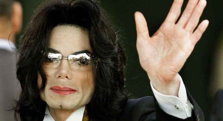 ARKIVFOTO af Michael Jackson.