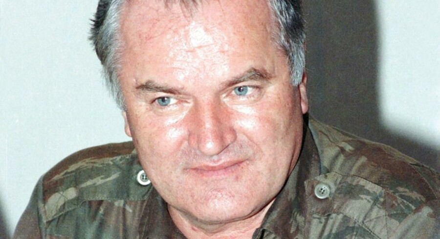Det varsler ilde for retsopgøret mod general Mladic. ARKIVFOTO 1995