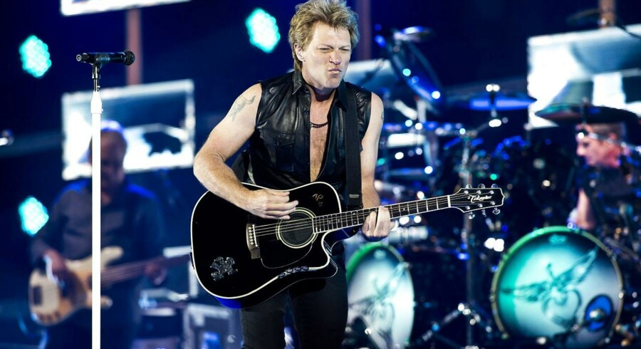 Tre stjerner får Bon Jovi med Jon i spidsen af Berlingskes anmelder, Lars Rix.