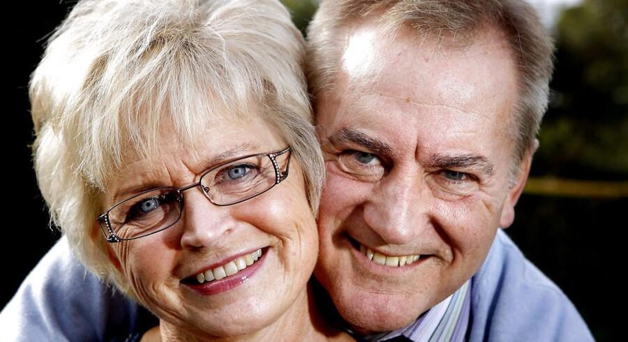 ARKIVFOTO af musikerparret Keld og Hilda Heick.
