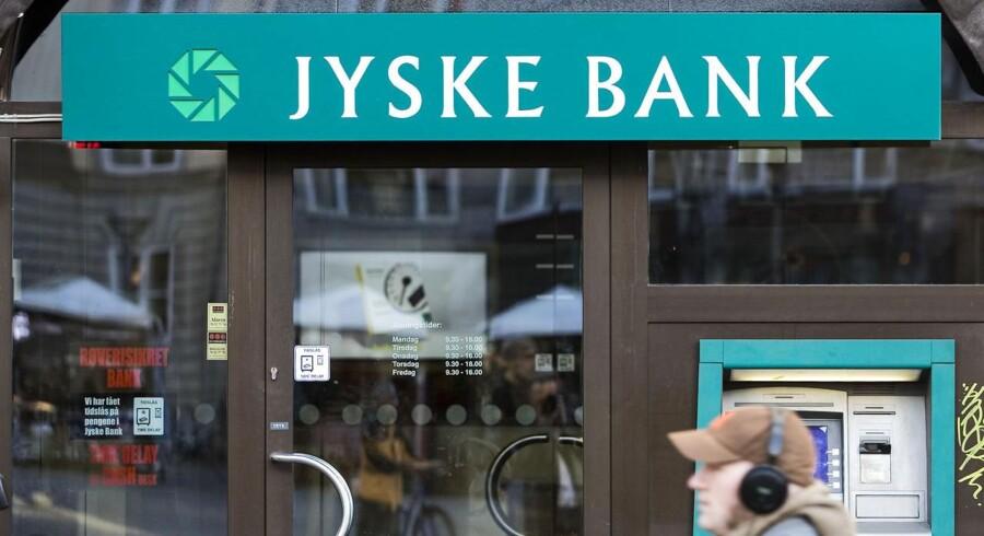ARKIVFOTO. I dag kommer Jyske Bank A/S med halvårsregnskab.