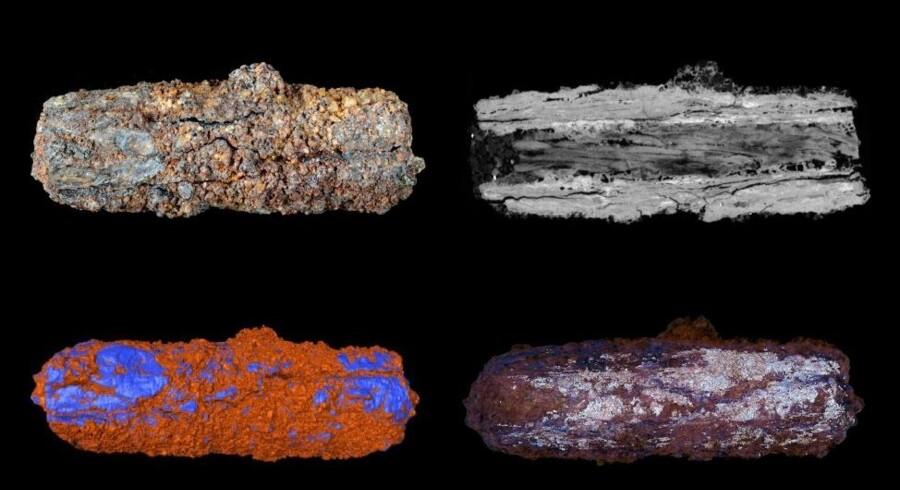 De tidlige egyptere tog deres perler fra rummet med i Graven. Foto: University of Manchester
