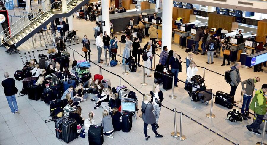 I dag offentliggør Københavns Lufthavne det totale antal passagerer for juli måned.