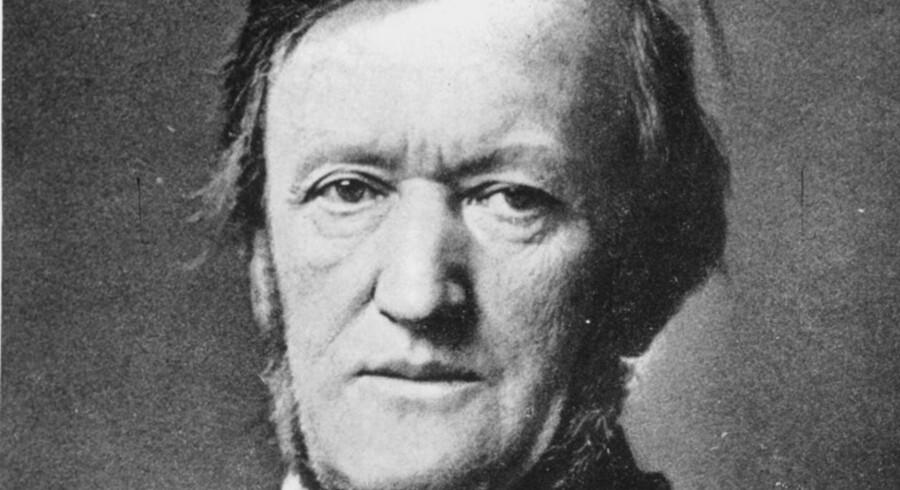 Historien om operakomponisten Richard Wagner, der ville fylde 200 år i dag, fortælles i høj grad baglæns. Han er et af de bedste eksempler på, at man er, hvad eftertiden gør én til. Således bygger Wagners rygte hovedsagelig på hans families forhold til nazismen.  Foto: Scanpix