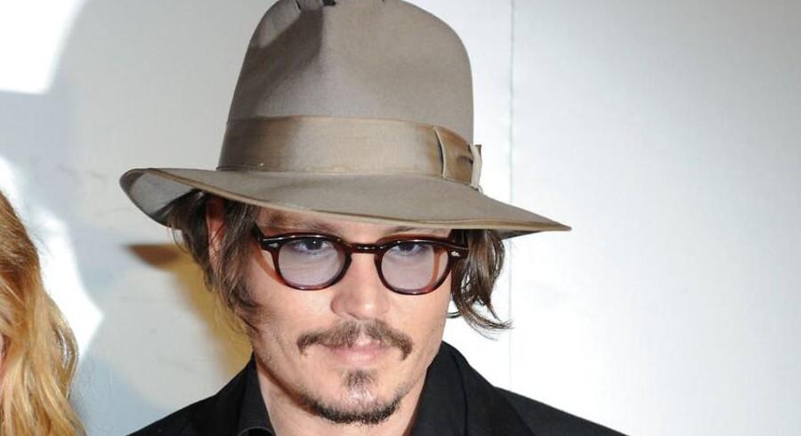 Den amerikanske skuespiller Johnny Depp.