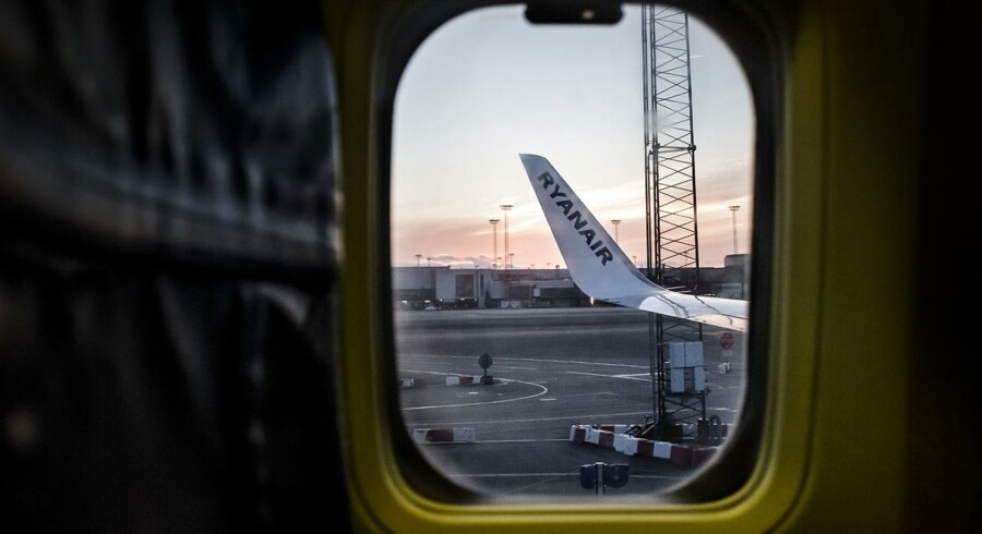 ARKIVFOTO 2015 af Ryanair fly.