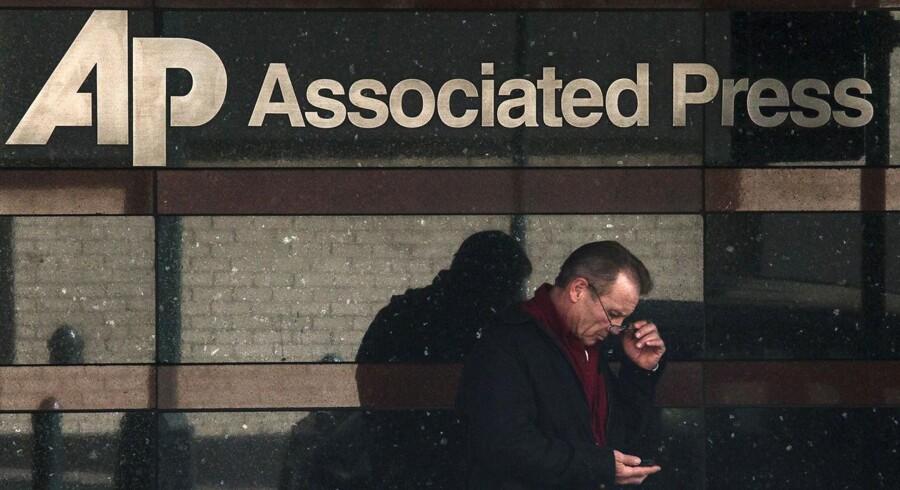 Associated Press' bygning på Manhattan i New York.