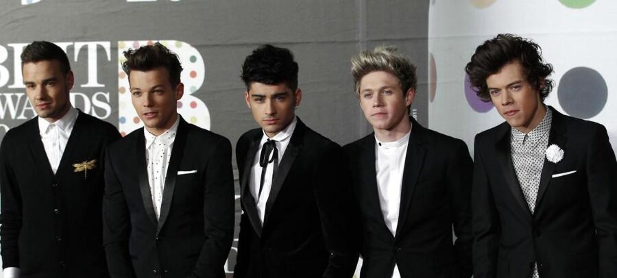 ARKIVFOTO af One Direction, som gav koncert i Herning.