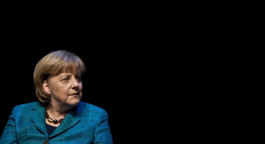 Den tyske kansler Angela Merkel forsikrer: Der bliver overhovedet ikke nogen formueskat med mig.