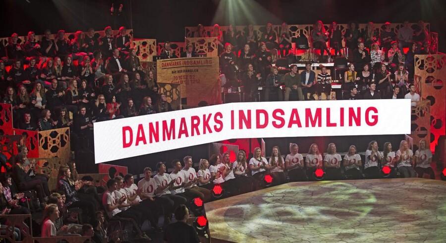 På billedet: Danmarks Indsamling 2014.