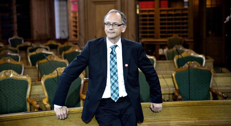 Stig Grenov. Partilederrunden efter valgresultatet torsdag den 18. juni 2015.