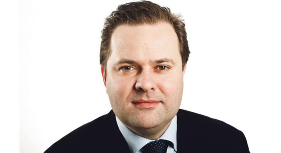 Mads Lebech, Adm. direktør, Industriens Fond.