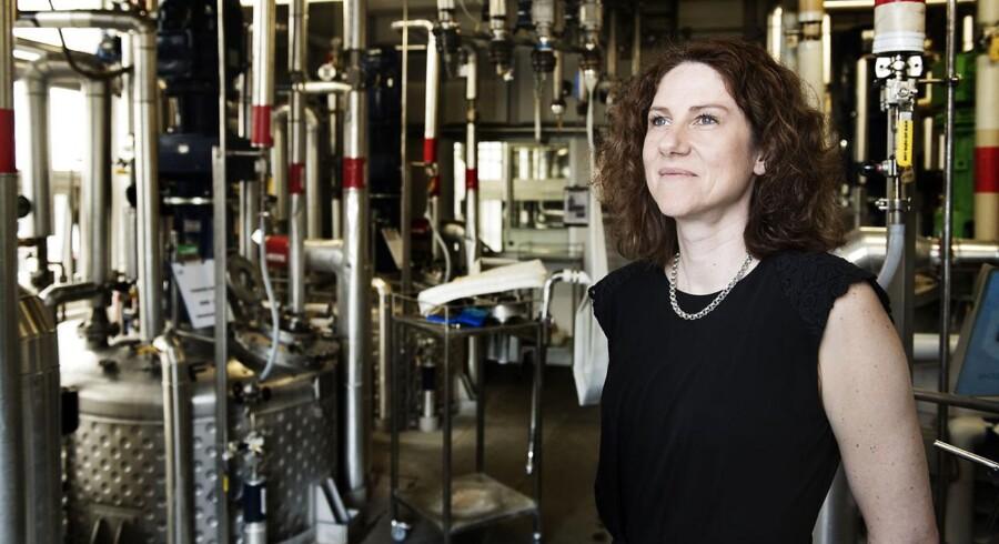 Koncernchef i Leo Pharma, Gitte Aabo, har sat store mål for sig selv og medarbejderne: Løvens produkter skal ramme 70 millioner patienter i 2020. Foto: Claus Bech