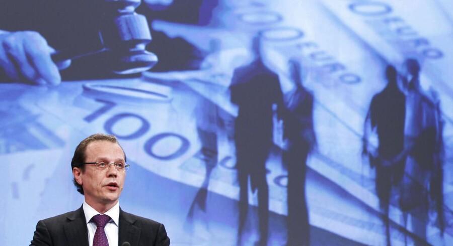 EUs skattekommissær Algirdas Šemeta har været med til at sætte fokus på skatteunddragelse i EU.
