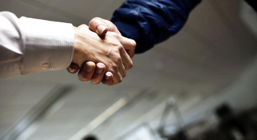 De norske fagforeninger blev ved tre-tiden mandag nat enige om årets overenskomst og afværgede en storstrejke i industrien