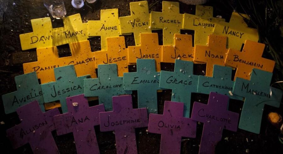 Fem minutter tog det Adam Lanza at dræbe 20 børn, seks voksne og sig selv på Sandy Hook Elementary School i Newton, Connecticut.