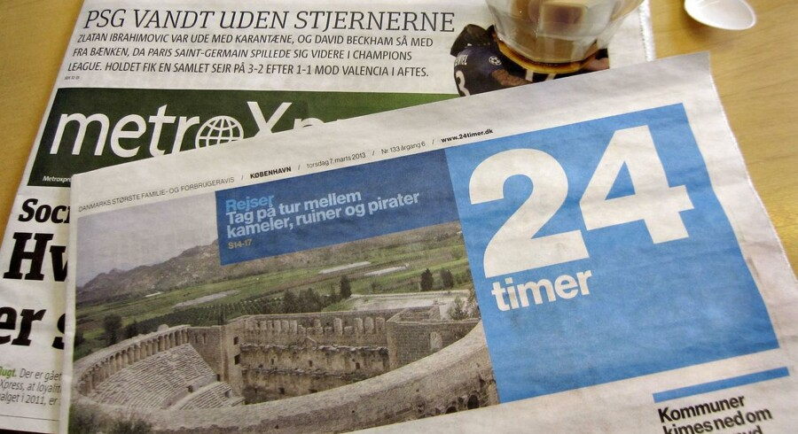 De nye schweiziske ejere af gratisaviserne 24timer og MetroXpress har valgt at lukke 24timer. Den sidste udgave er på gaden i dag. MetroXpress udkommer i relanceret form den 2. april.