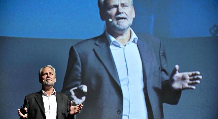 Formanden for FOA Dennis Kristensen