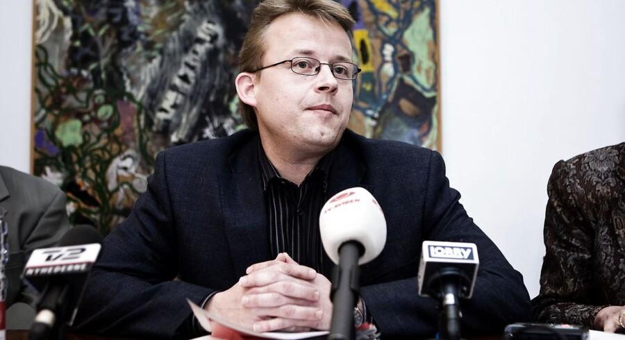 Socialborgmester i København, Mikkel Warming (Enh.), beklager, at de kritisable forhold på Møllen ikke er blevet rettet op. Foto: Rune Evensen/Scanpix