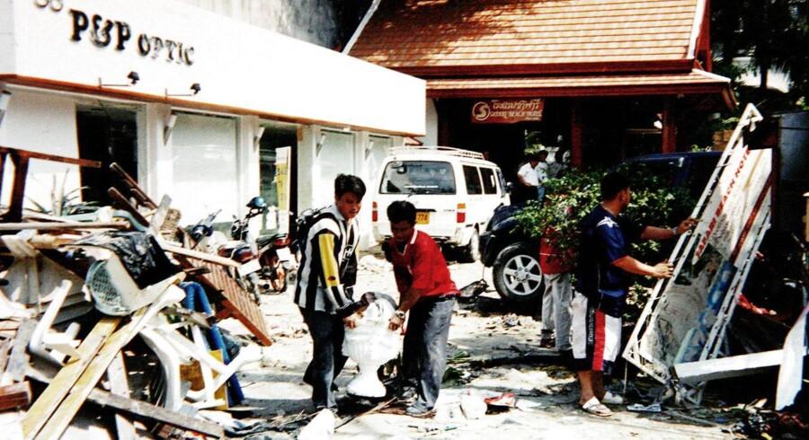 Tsunami. Case. Phuket, Thiland. PRIVATFOTO