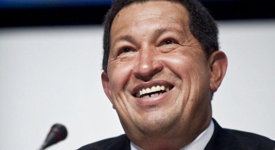 Fotograf Nikolai Linares mødte Hugo Chavez under COP15 i Bella Center og endte med en fin historie.Pressemøde med Bolivias præsident Evo Morales og Venezuelas nu afdøde præsident Hugo Chavez..