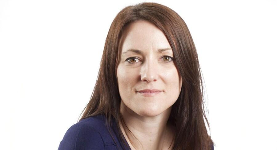 Line Holm Nielsen er featurejournalist på Berlingske og nu også modtager af årets DONA-pris for onlinejournalistik. Foto: Søren Bidstrup