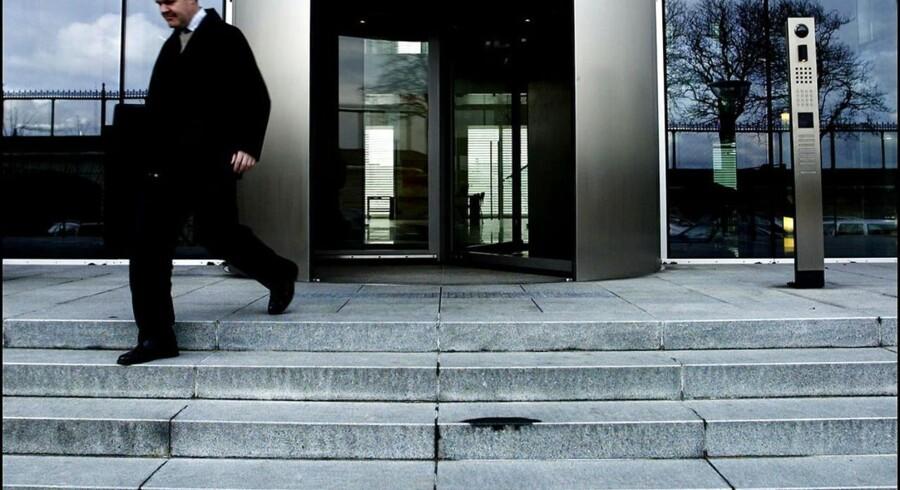 ARKIVFOTO 2004 af FIH Erhvervsbank på Langelinie- - Se RB 5/3 2013 07.09. Morgenavisen Jyllands-Posten kan tirsdag afsløre, hvilke banker Finanstilsynet har sat under skærpet tilsyn, fordi der er en særlig stor risiko for, at de ikke har kapital nok til at overleve. Den ellers hemmeligholdte liste indeholder FIH Erhvervsbank, Vestjysk Bank, Totalbanken, Alm. Brand Bank, Andelskassen JAK Slagelse, Cantobank, Basisbank og Vorbasse Hejnsvig Sparekasse. (Foto: Christian Als/Scanpix 2013)