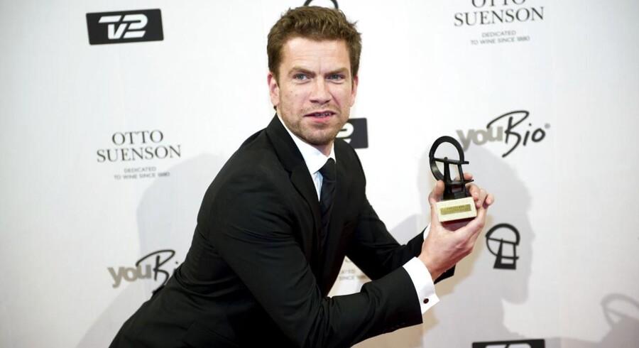 Nikolaj Lie Kaas vandt prisen for »Årets mandlige hovedrolle i en tv-serie« for sin rolle i »Forbrydelsen III«, hvor han spillede PET-medarbejderen Mathias Borch.
