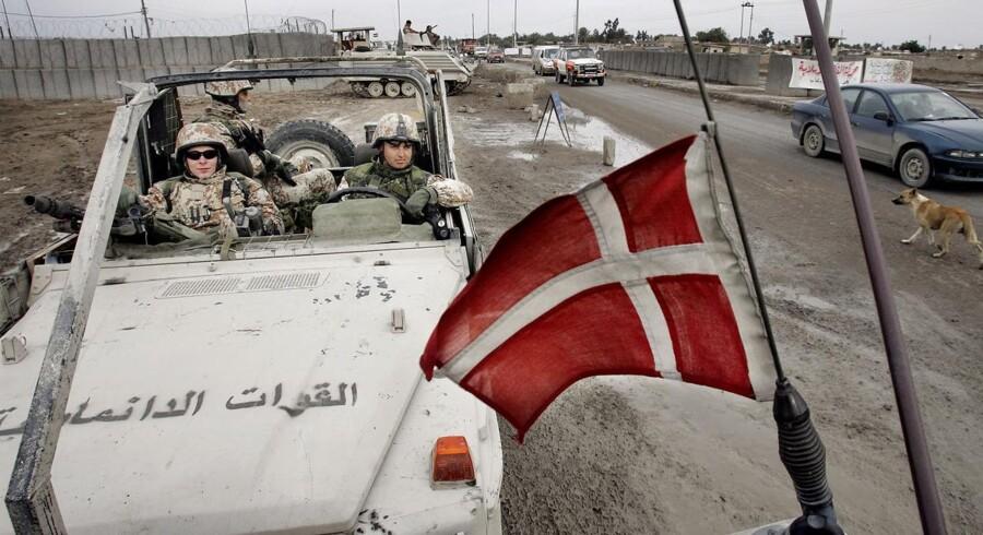 Papkassenotat-sagen handler om, at Folketinget fik misvisende oplysninger om antallet af irakere, det blev taget til fange af den danske Irak-bataljon. - Arkivfoto