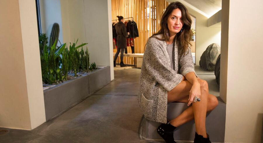 Marise Østergaard - til stor modeartikel i Business Magasinet