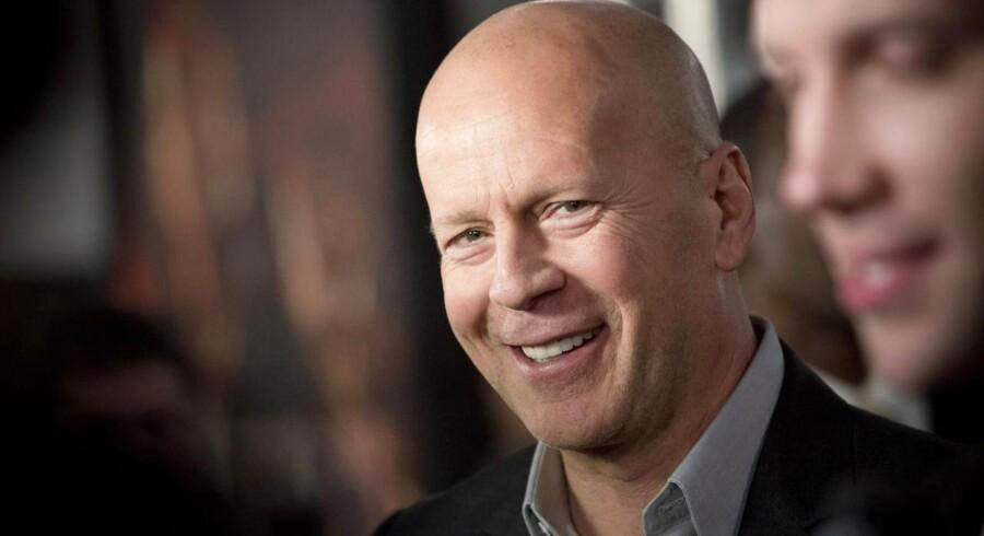 """Bruce Willis (f. 1955) har mange blockbustere på sit CV, men er nok mest kendt for de hårdslående """"Die Hard""""-film. Han er aktuel i den femte i serien, """"A Good Day to Die Hard"""", som har premiere i dag, den 14. februar."""