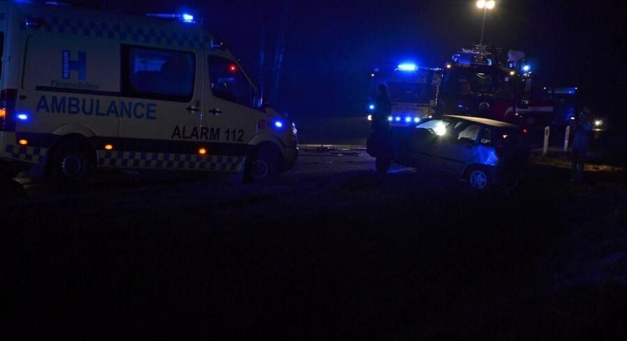 En 25-årig kvinde på cykel blev tidligt torsdag morgen påkørt og dræbt af en lastbil i Frederikshavn (arkivfoto). Free/Colourbox