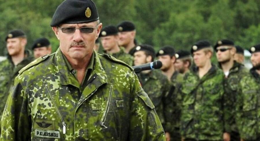 ARKIVFOTO Generalmajor Poul Kiærskou, daværende chef for Hærens Operative Kommando Foto: Jesper Kristensen