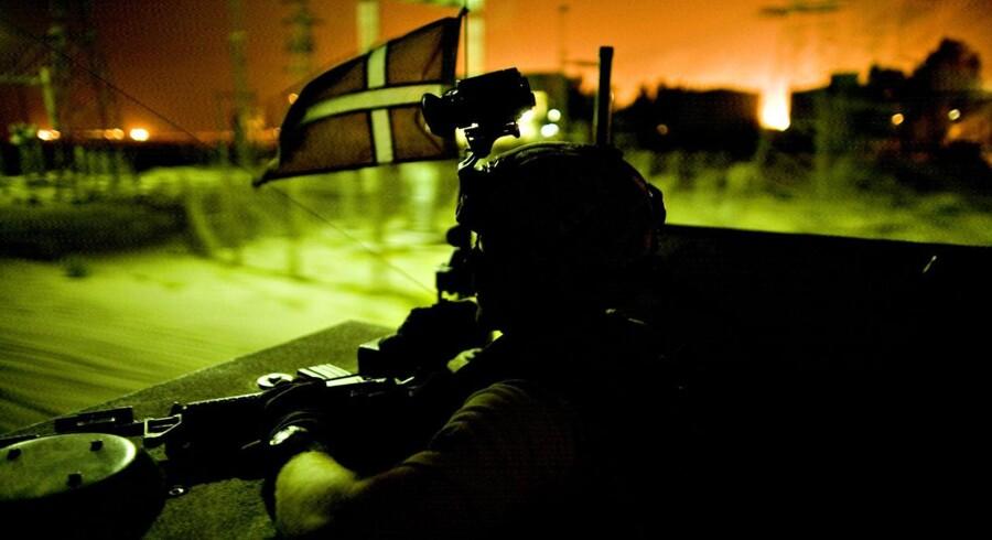 Chef for Hærens Operative Kommando (HOK) i 2007, Poul Kiærskou, er blevet straffet for at give Folketinget fejlagtige oplysninger om antallet af fanger, som danske soldater havde taget under krigen i Irak. - Arkivfoto