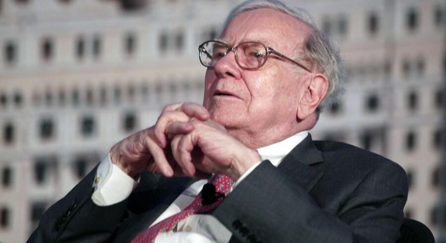 Warren Buffet køber op igen.