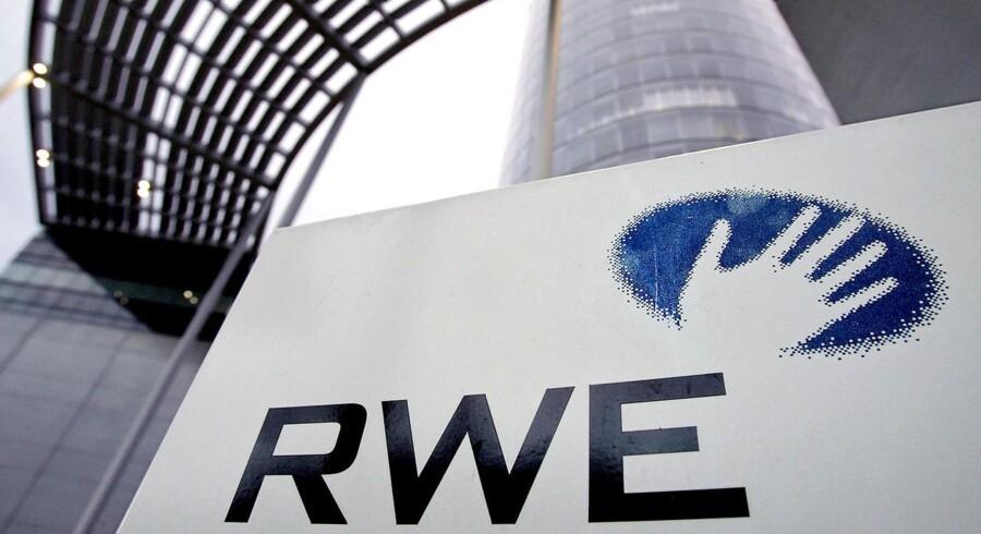Det store tyske el- og gasselskab RWE mærker tydeligt, at energipriserne er faldende i Europa.