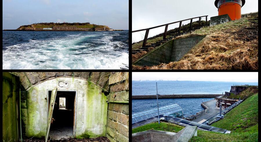 Spejderdrøm går i opfyldelse: Får deres egen ø i Øresund - Middelgrundsfortet.