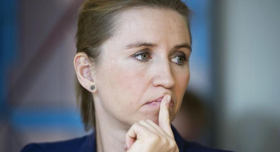 Beskæftigelsesminister Mette Frederiksen bekræfter, at regelændringen ikke er sket endnu.