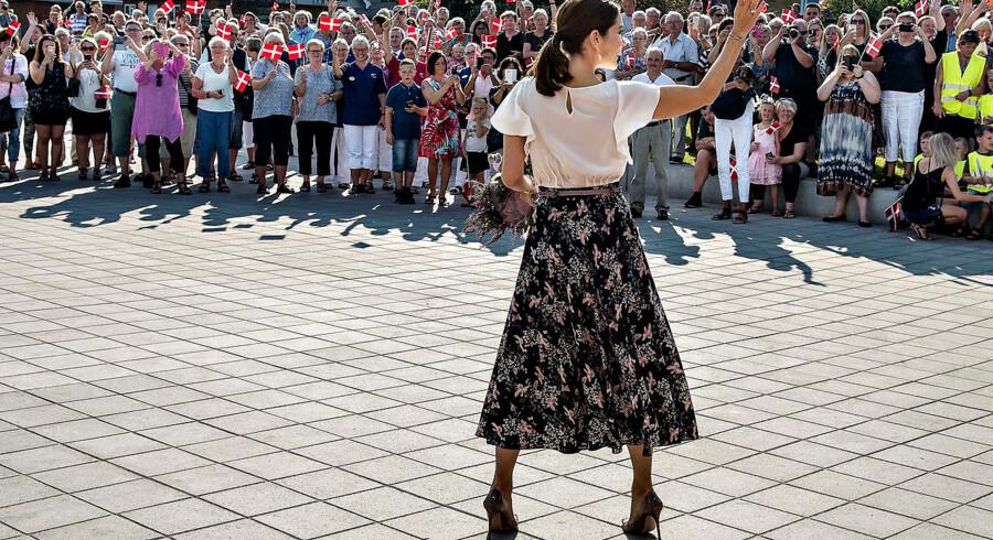 Aabybro Skole har været i vælten, fordi elever i specialafdelingen blev sendt på udflugt, da kronprinsesse Mary for nylig besøgte skolen (foto).