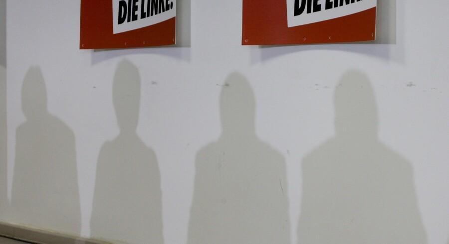 Diether Dehm fra det tyske parti Die Linke indrømmer, at han har smuglet en ung afrikaner ind i Tyskland. Reuters/Wolfgang Rattay