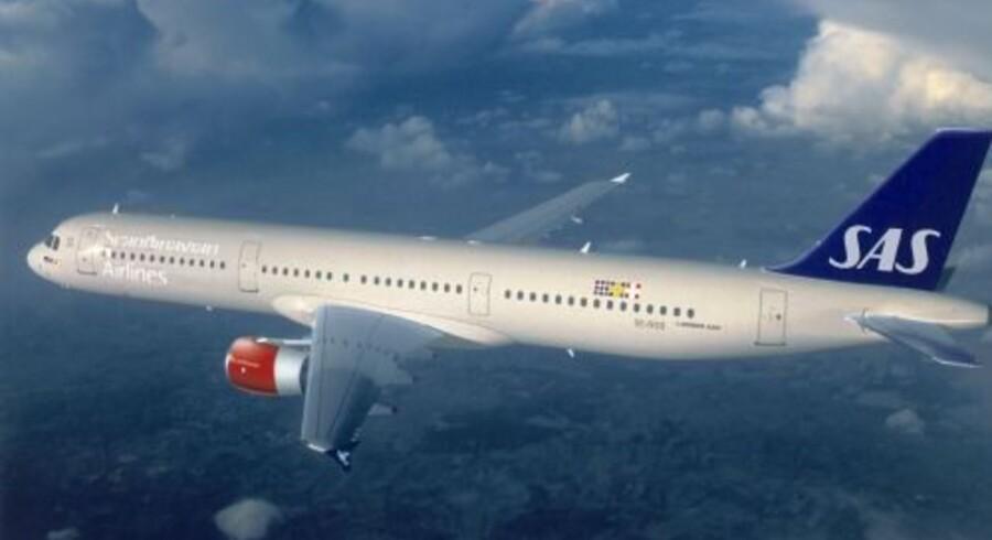 Besætningsmedlemmer på et SAS-fly frygtede for deres liv på grund af en litauisk passagers snak, hedder det i et anklageskrift fra Københavns Politi (arkivfoto) Free/Sas