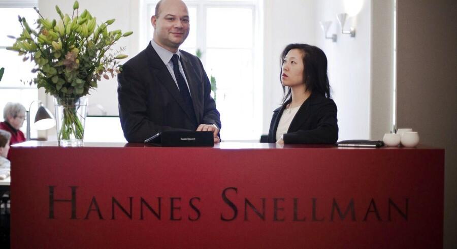 Advokatfirmaet Hannes Snellman havde i foråret 2011 – et halvt år efter etableringen – hyret 16 M&A-advokater fra flere af de store advokatkontorer, især fra Bech-Bruun og Horten. På daværende tidspunkt var direktør Philip Risbjørn og Amanda Tonsgaard klar til at vokse yderligere.