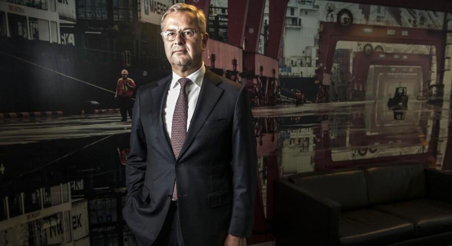 »Maersk Line er det mest profitable rederi i containersektoren, og vi afgiver ikke positionen som verdens største på min vagt.« Søren Skou, direktør i Maersk Line.