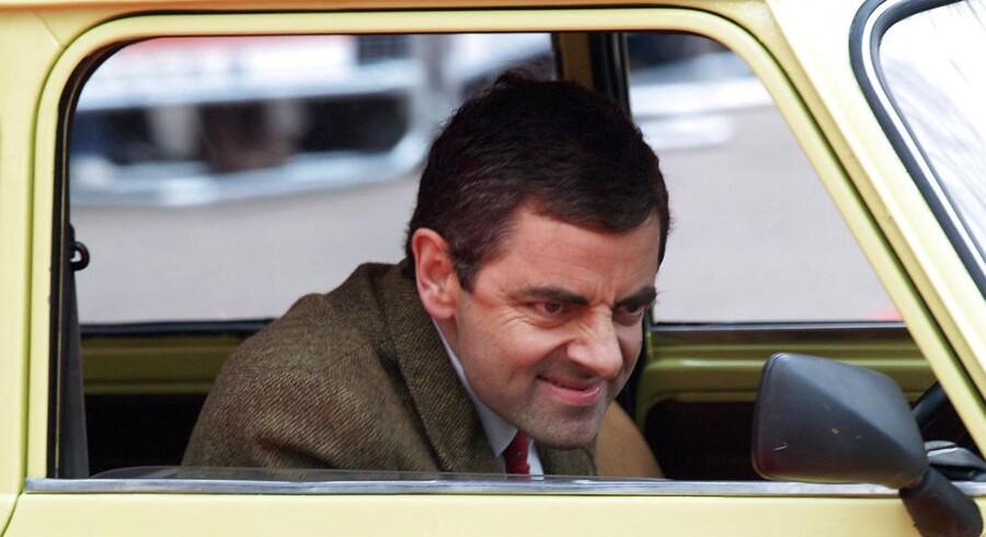 Rowan Atkinson som Mr. Bean.