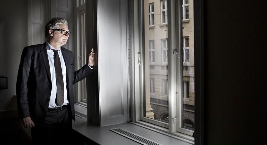Peter Winther, formand for ejendomsselskabet Victoria Properties, som er ejet af rigmænd - medlemmer af både Mærsk- og Danfoss-familien.