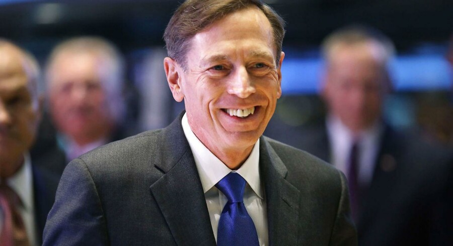 ARKIVFOTO fra september. David Petraeus